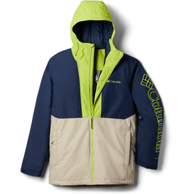 Columbia Timberturner Veste Homme, ancient fossil/collegiate navy/bright chrtrse
